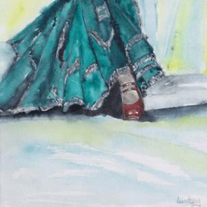 Flamenco Footsteps I L Pearson